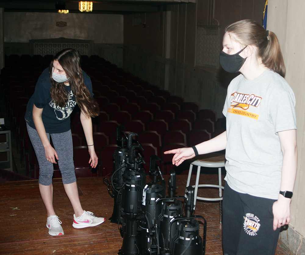 New lights in North Grand Auditorium to premiere this weekend