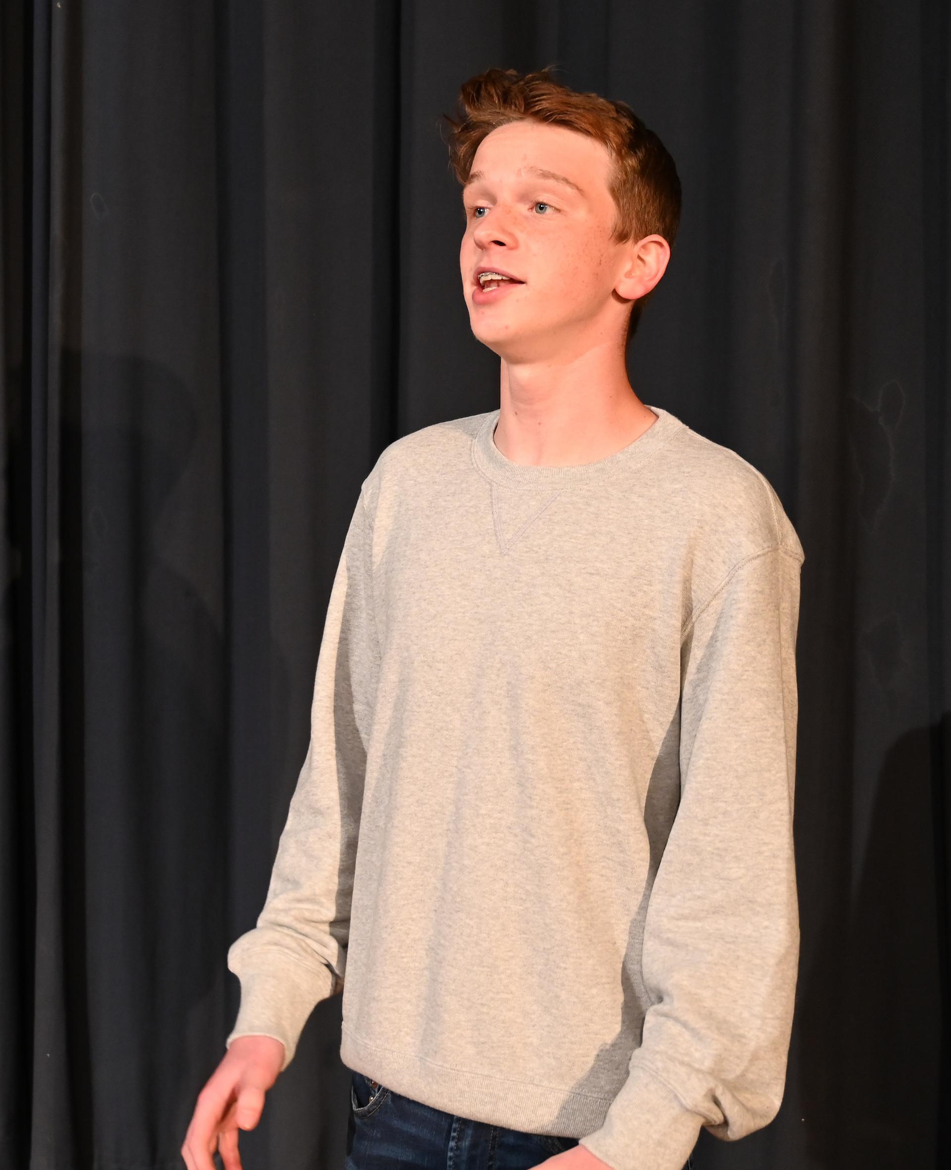 CCHS sophomore Haglund receives national recognition for vocal talent