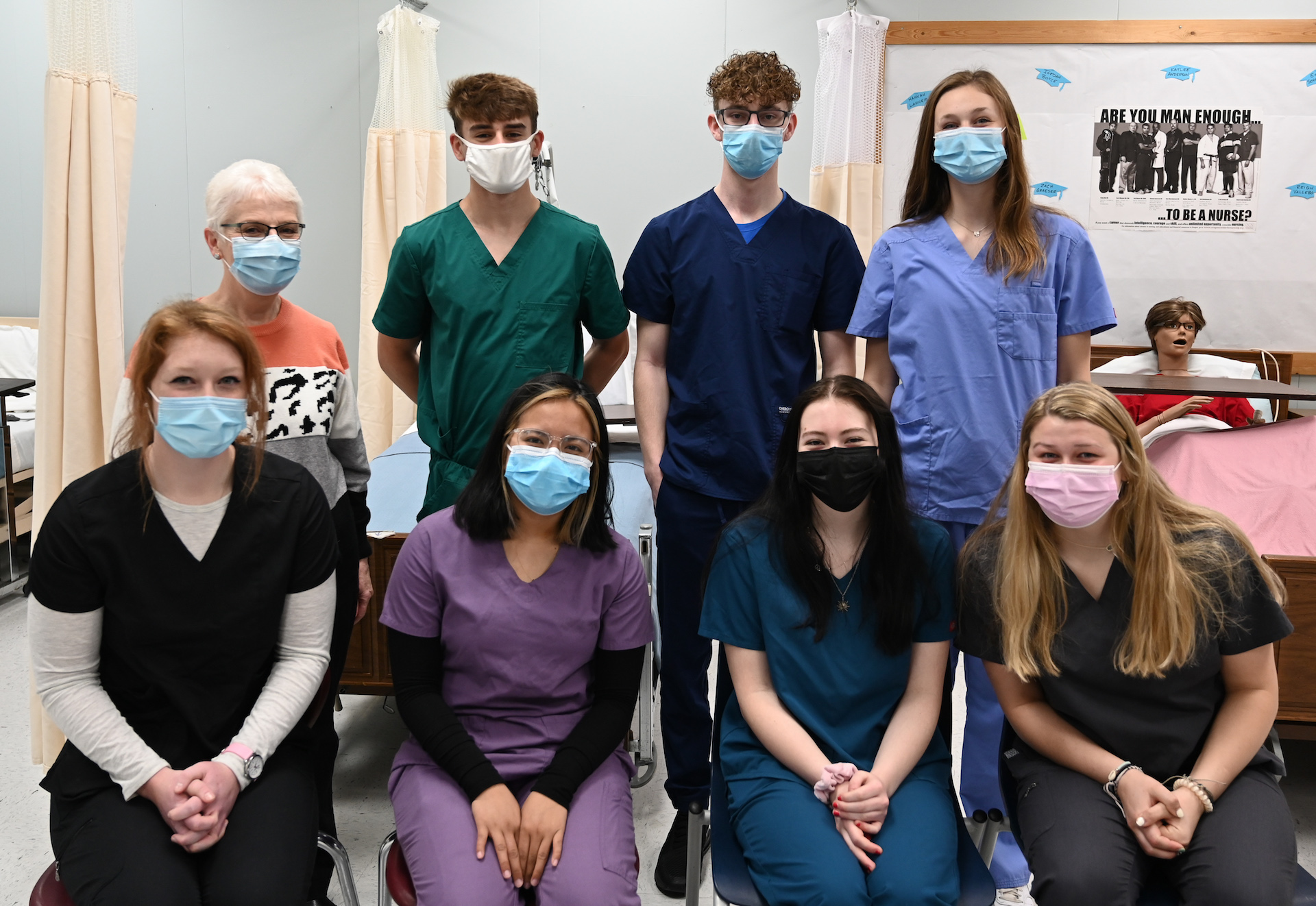 CCHS CNA students earn certification
