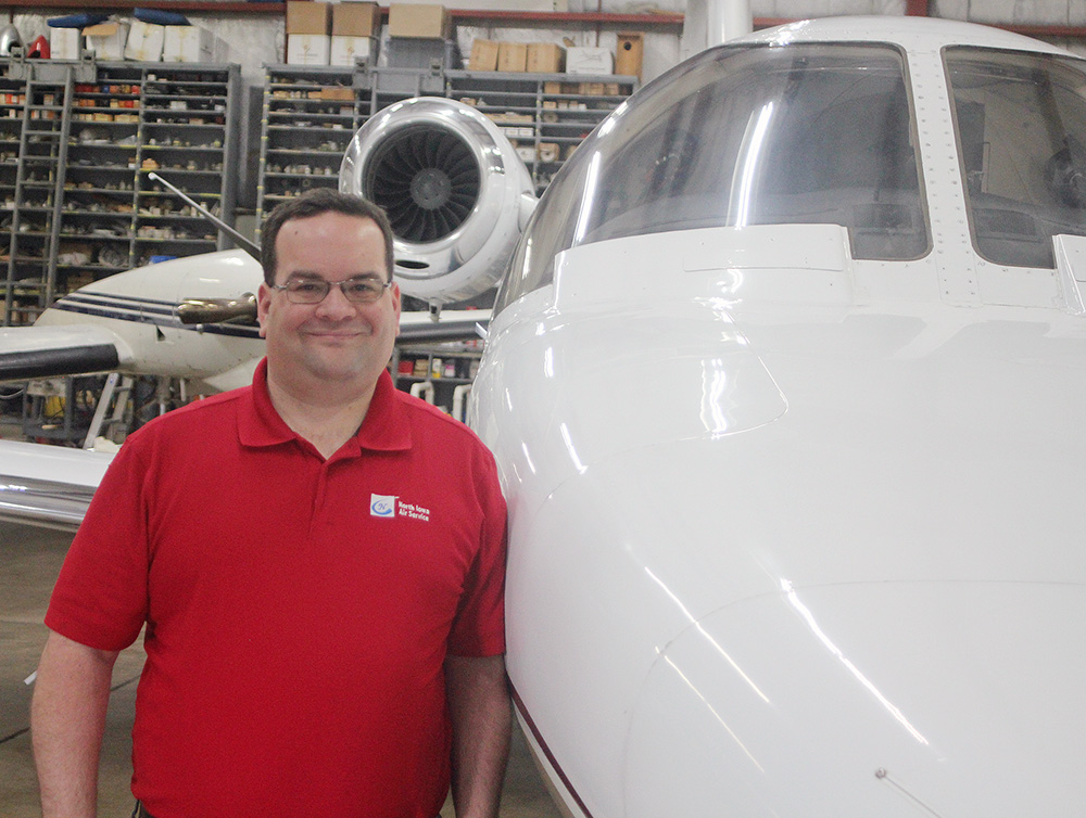 Schrodt flies higher at Charles City Aeronautics