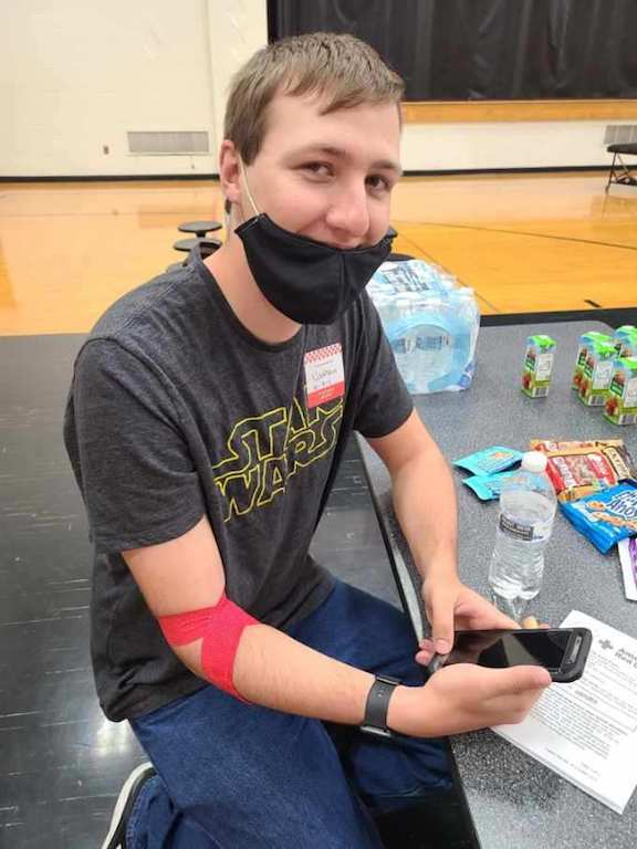 Blood drive held at CCHS