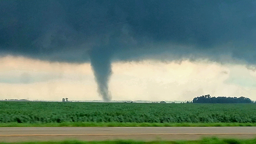 Tornados touch down in Floyd County during a day of storms