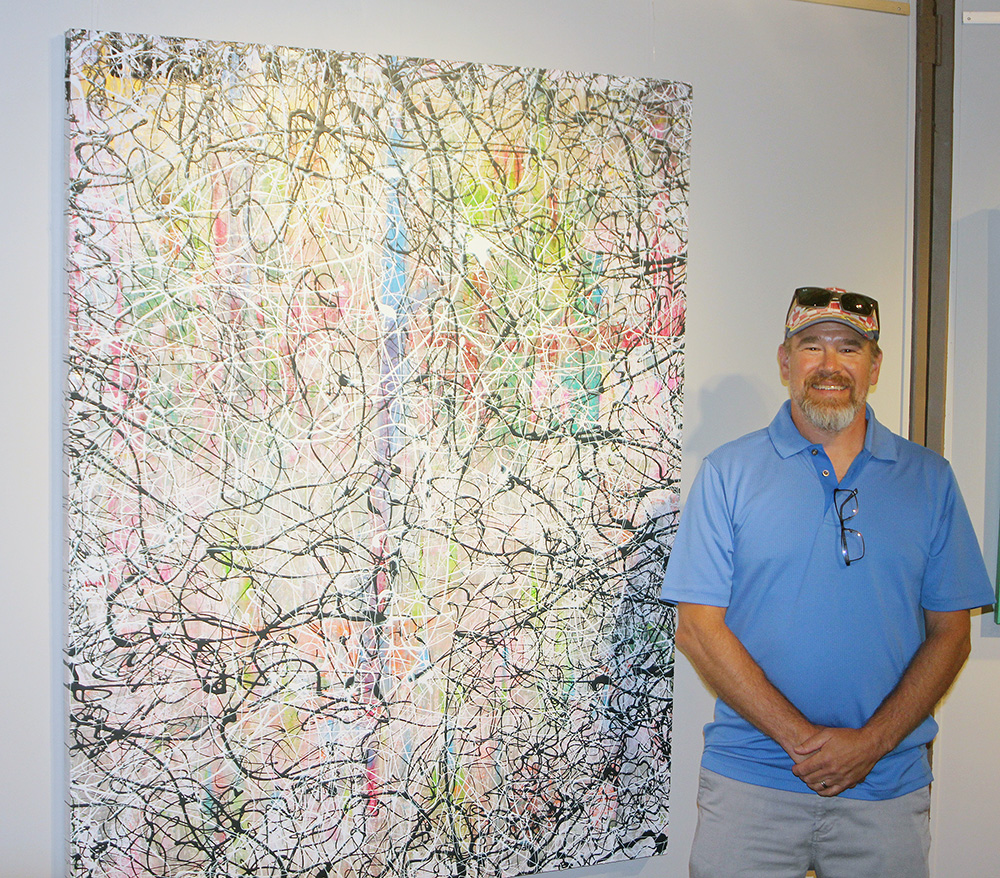 Abstract painter Provorse featured at CCAC